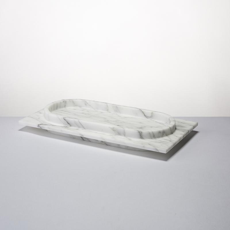 Romeo n°1 - Oval tray - 400 x 200 x 50mm