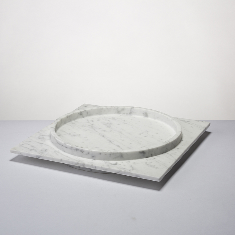 Stefano - Large circular tray - 350 x 350 x 50mm