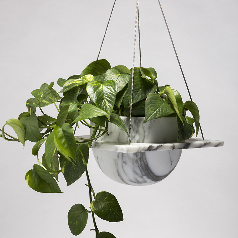 Roberta - Hanging plant pot - 250 x 250 x 150mm