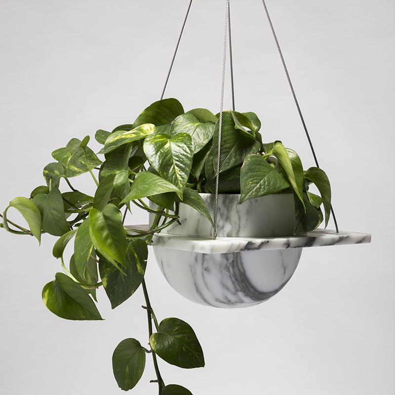 Roberta - Hanging plant pot - 250 x 250 x 150mm