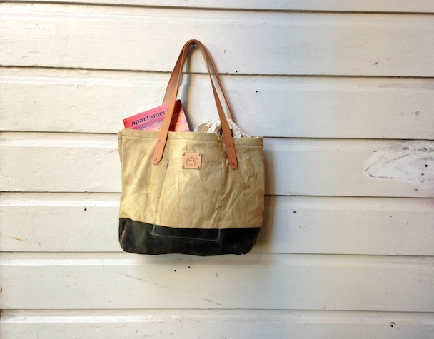 Flint Natrually Dyed Tote
