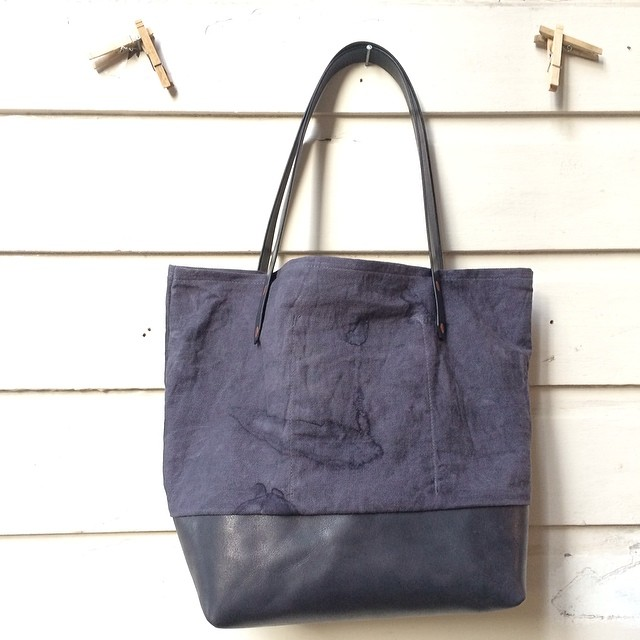 Two-toned Oak Gall & Iron Tote