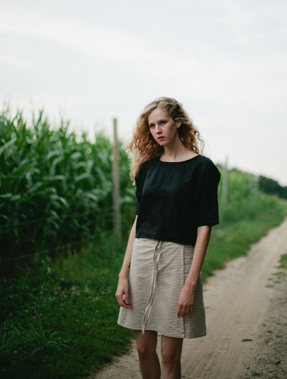 creates sustainable handmade clothing, using eco friendly and low impact materials.