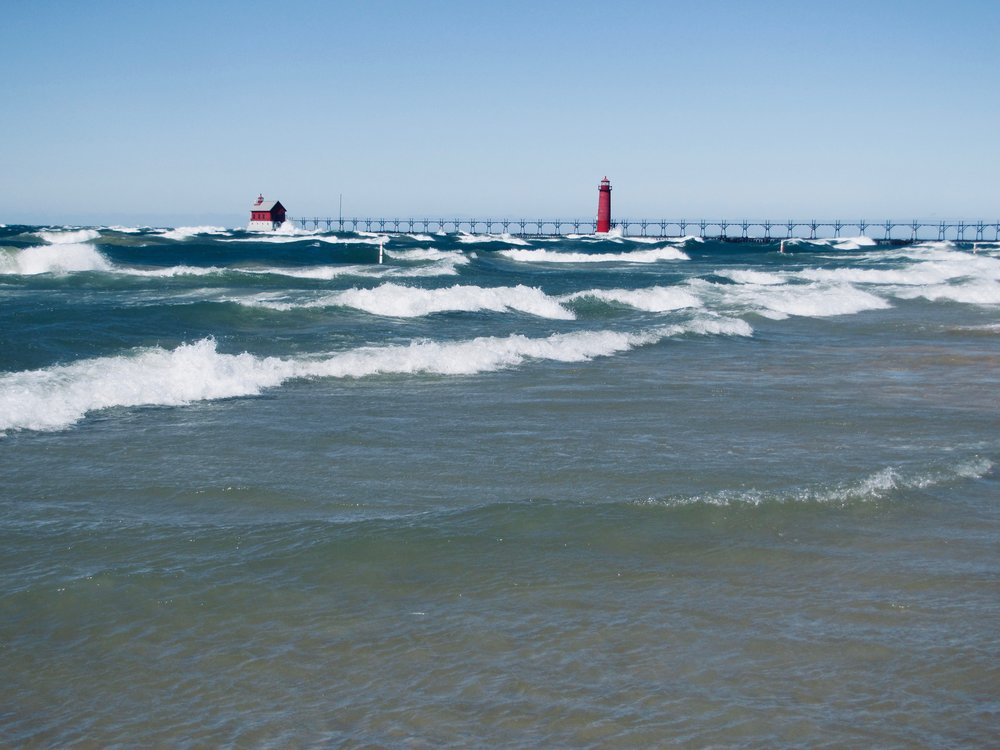Lake Michigan, Grand Haven MI