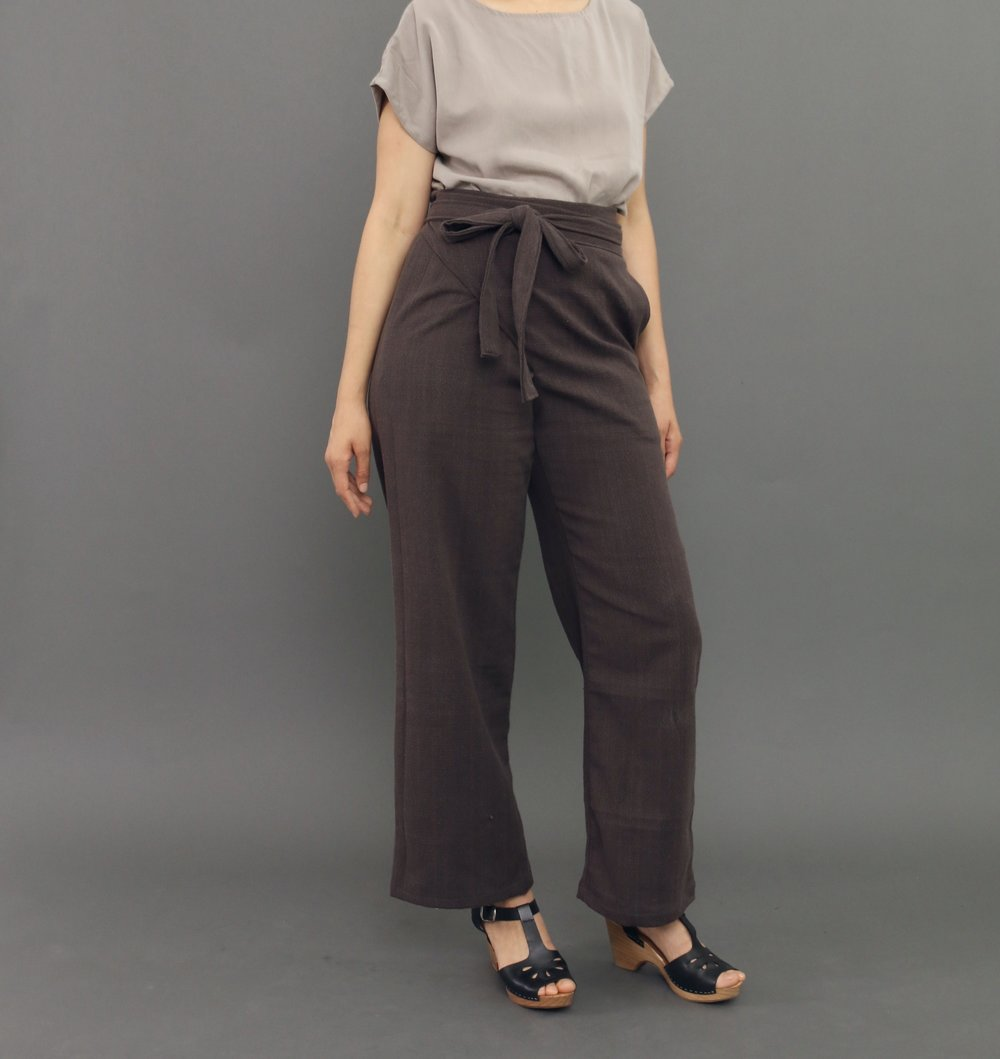 Equinox Wrap Pants in Dusk