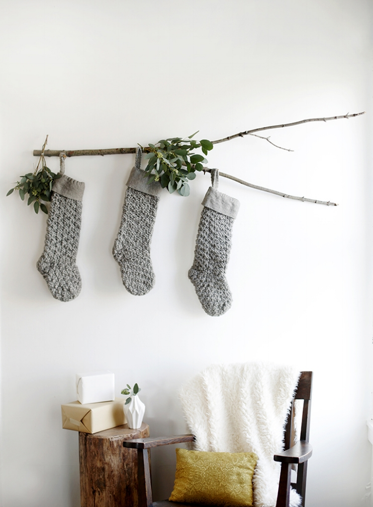 10 Ways to Reduce Waste This Holiday Season - Utilize Stockings