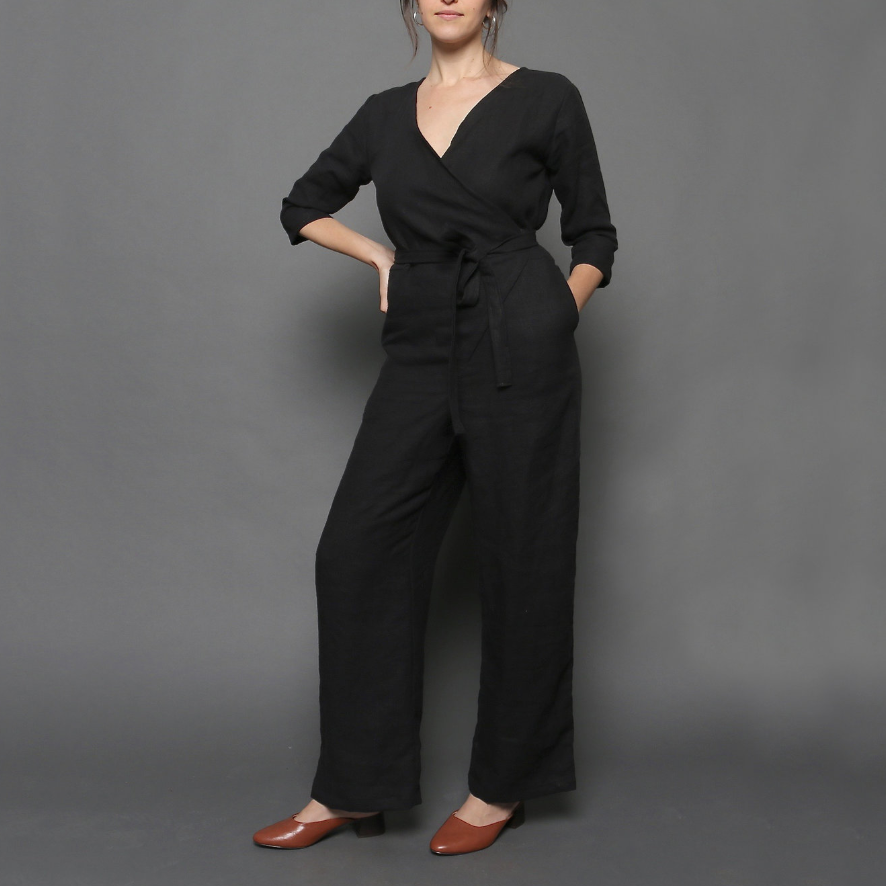 HARVEST WRAP JUMPSUIT