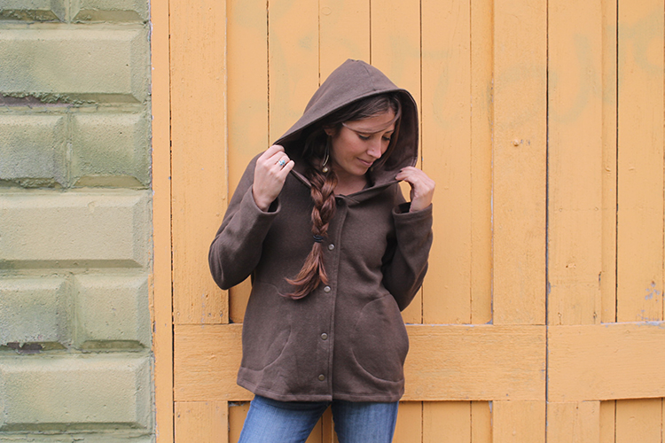 Conscious Clothing Hemp Fleece Coach Jacket