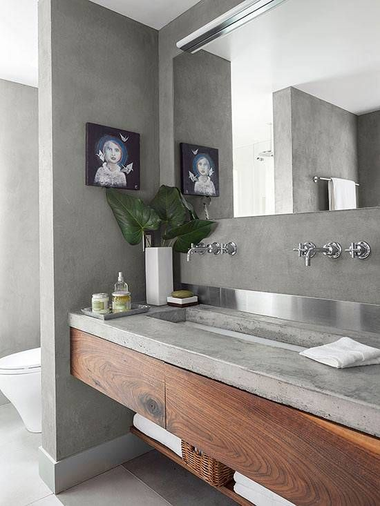 small bathroom countertop ideas inspiration things made with concrete nora 21770