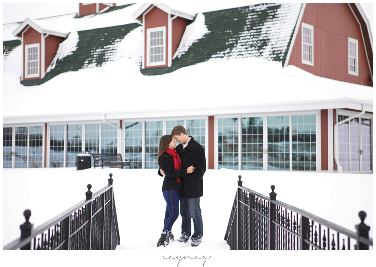 winter engagement session. natural posing. engagement session. Rockton illiniois. Madison Wisconsin. barn wedding. popular wedding location. orchard ridge farm.
