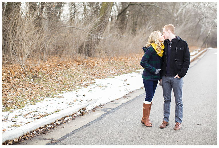 Milwaukee, Wisconsin Winter Engagement Session