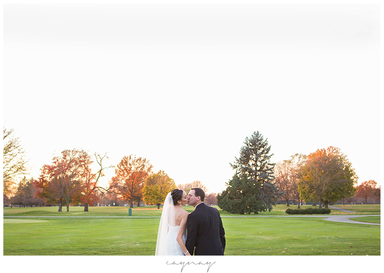 Rockford Illinois Country Club Fall Wedding