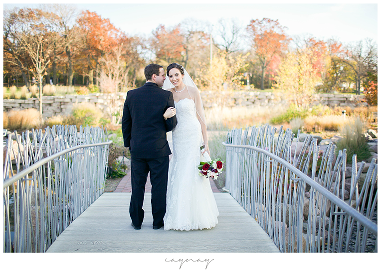 Rockford Illinois Catholic Wedding Nicholas Conservatory & Gardens