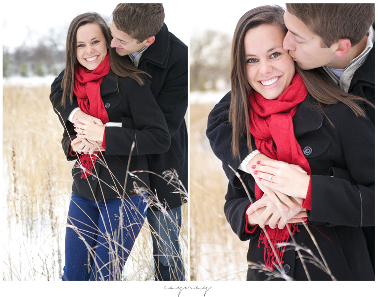 winter engagement session. natural posing. engagement session. Rockton illiniois. Madison Wisconsin