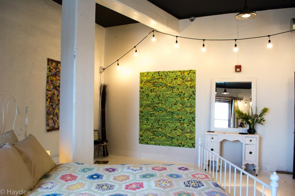 Installation view of my show at Wherehouse Art Hotel