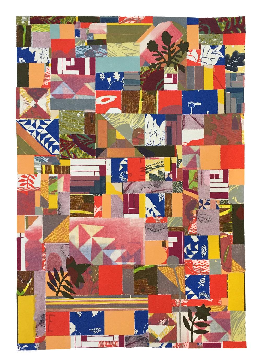 Paper quilt #1