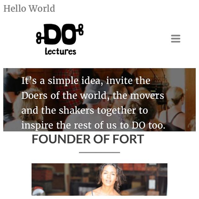 Next weekend.  Hopland, California.  DO Lectures @thedolectures  I can't wait to share some of what I've learned along the way:). If you get a chance look up Peter Farrellys DO lecture. Inspirational and hilarious:).