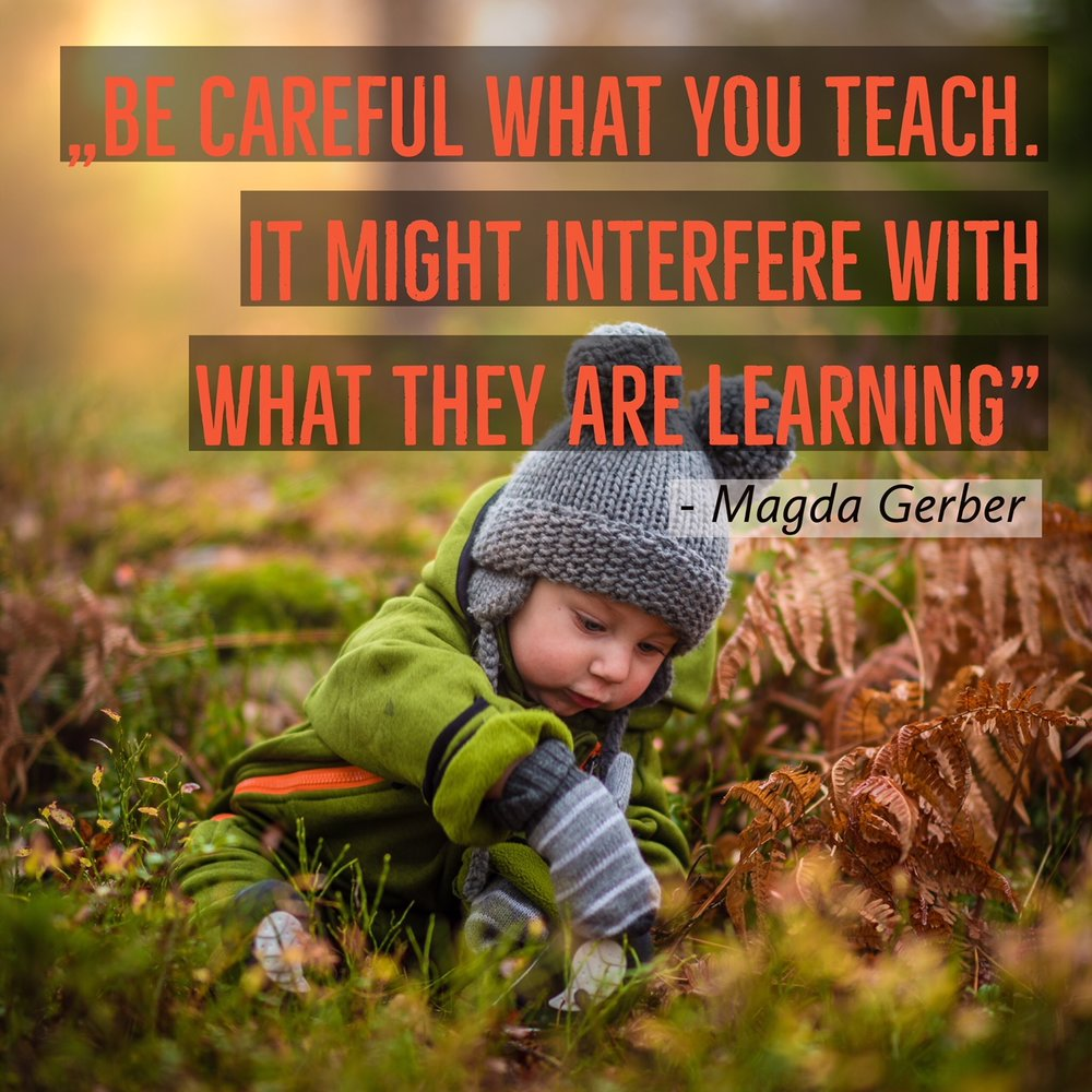 Magda Gerber's quote about teaching.JPG