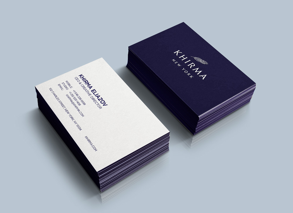 KHIRMA BRAND IDENTITY : BUSINESS CARD