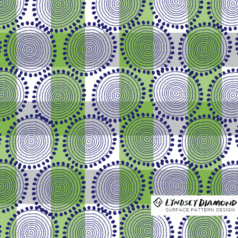 GEOMETRIC                       G-007 NATIVE CIRCLES  LD_PATTERN