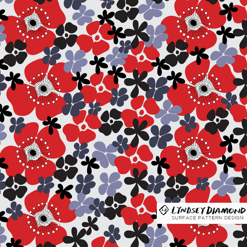 NATURE                               N-005 FORAL POP LD_PATTERN