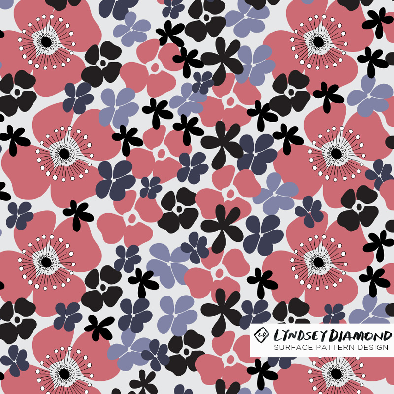NATURE                           N-009 FORAL ABSTRACT LD_PATTERN