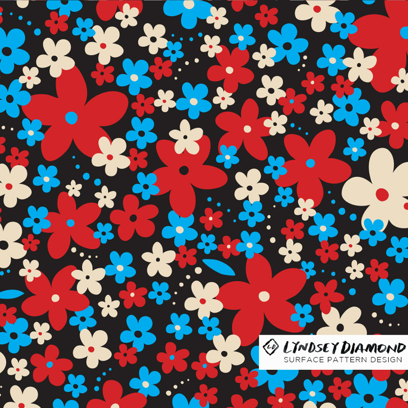 NATURE                           N-008 FORAL POP LD_PATTERN