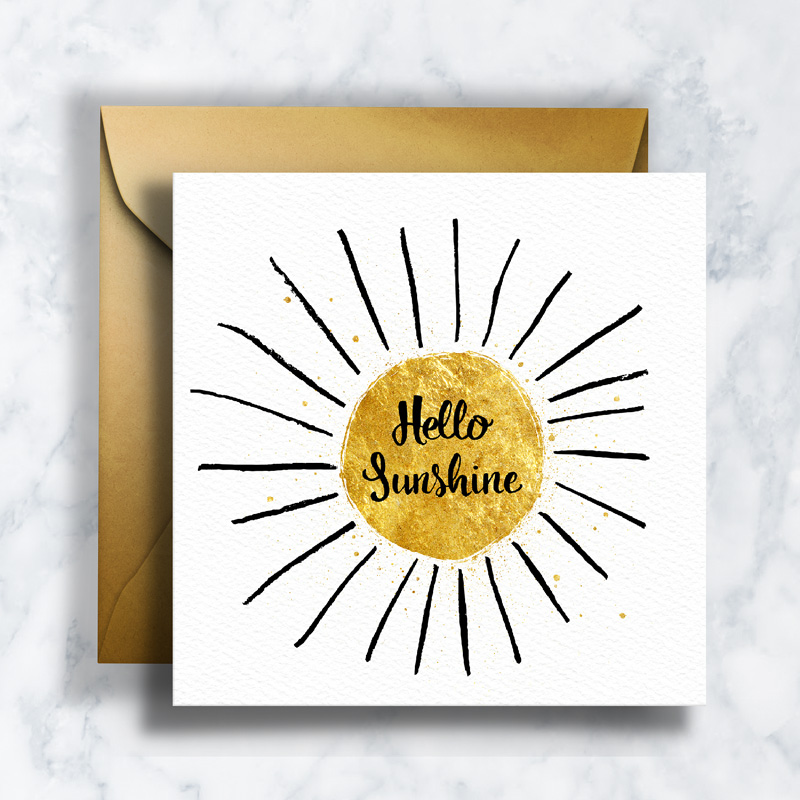 GREETING CARDS        GC-001    SUNSHINE   LD_ILLUSTRATION