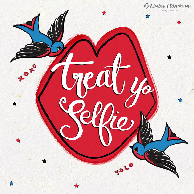 ILLUSTRATION              IL-002   TREAT YO SELF LD_ILLUSTRATION