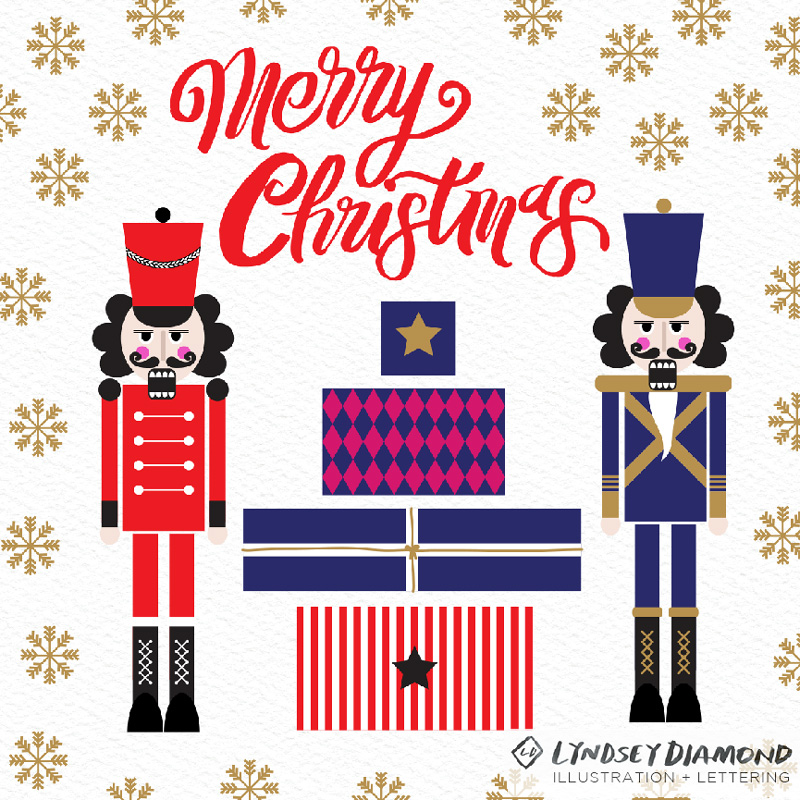 GEOMETRIC                          G-004   NUTTY NUTCRACKERS   LD_PATTERN