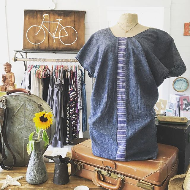 Tomorrow at the Point Reyes Farmer's Market we feature All Purpose by Michele Schwartz. Handcrafted fashion for everyday with gorgeous organic fabrics. Join us Saturday from 9am to 1pm in front of Toby's. See you there!