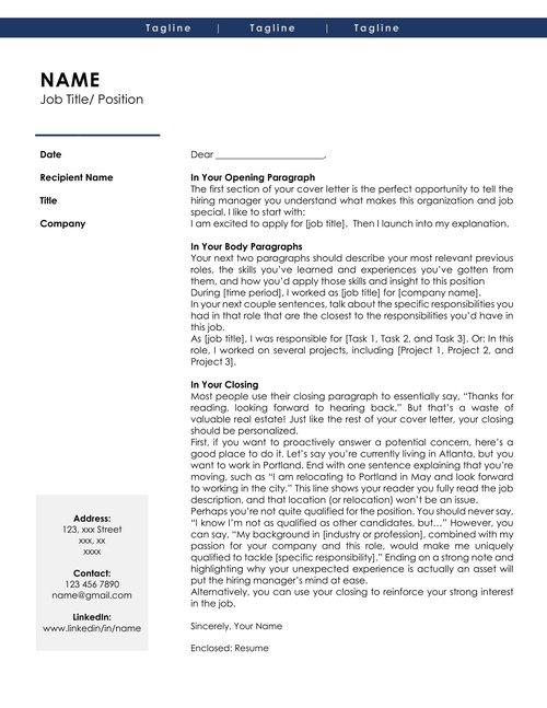executive resume cover letter template pack no 1 natasha ferguson