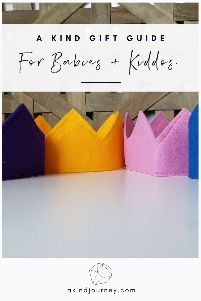 A Kind Gift Guide: For Her, Him + The Kiddos | akindjourney.com #TheKindBrands #GiftGuide #EthicalGifts