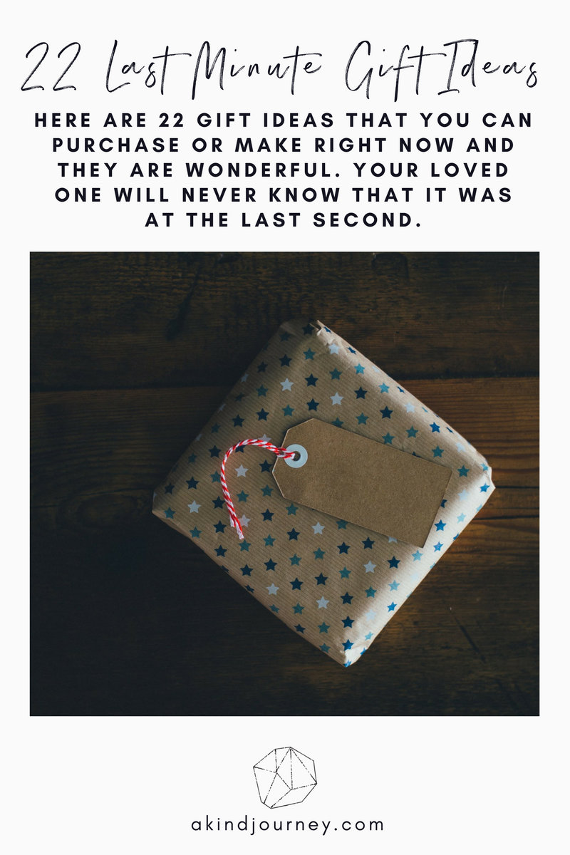 22 Last Minute Gift Ideas | akindjourney.com #TheKindBrands