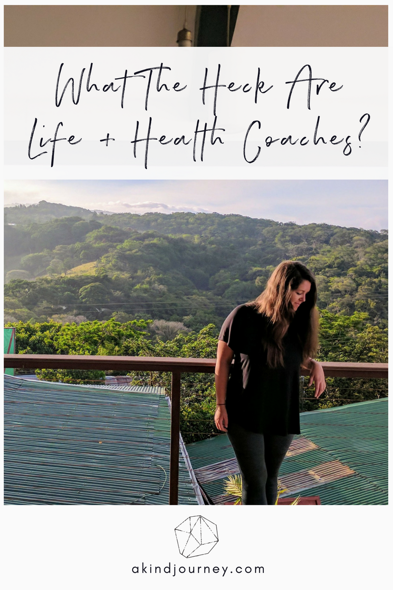 What The Heck Are Life + Health Coaches? | akindjourney.com #TheKindBrands