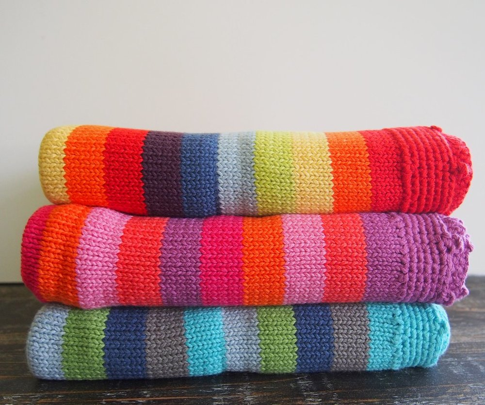 Fair Trade Organic Knit Baby Blanket | Kind Gift Guide akindjourney.com
