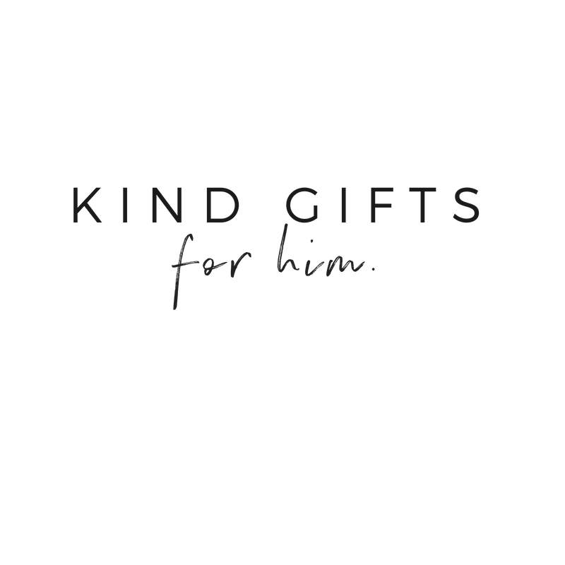 Kind Gift Guide For Him | akindjourney.com