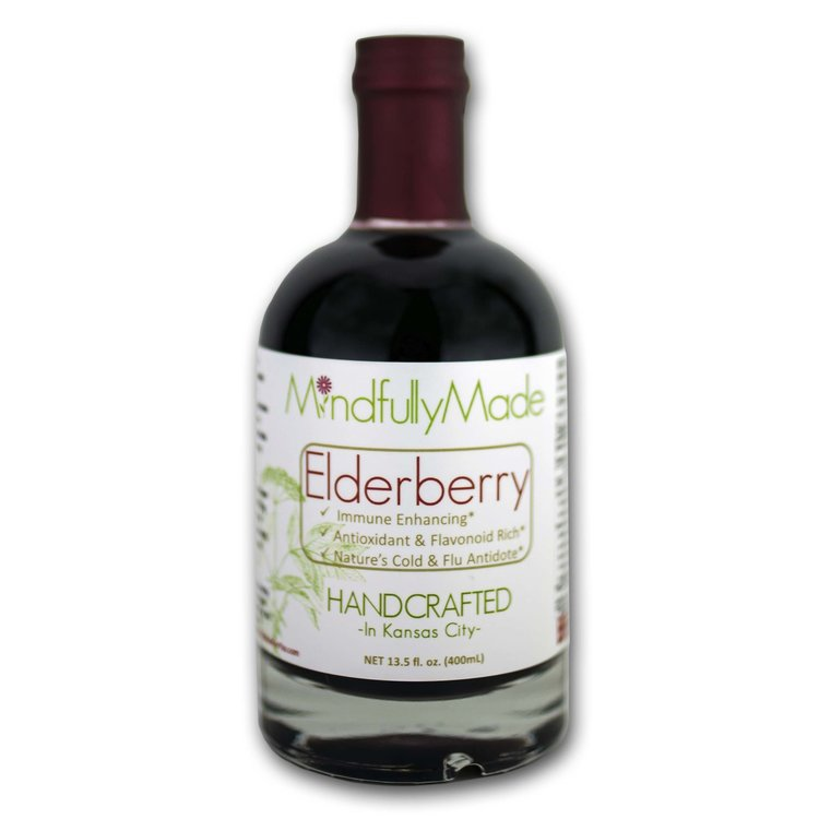 Mindfully Made Elderberry Syrup | Kind Gift Guide akindjourney.com