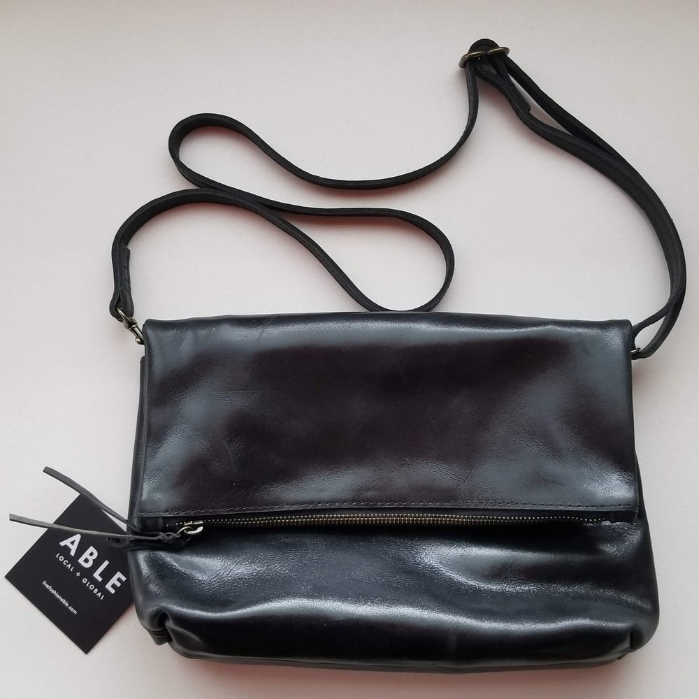 A Kind Boutique ABLE Emnet Foldover Crossbody | Kind Gift Guide akindjourney.com
