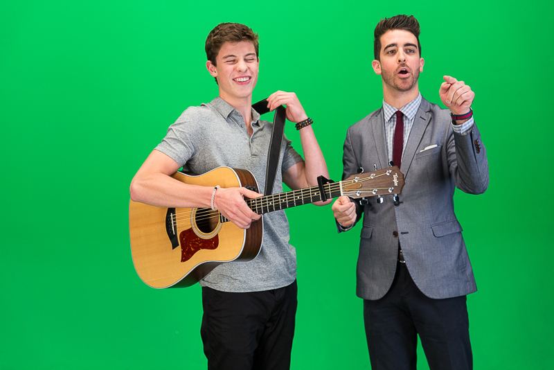 Shawn Mendes and Paul Costabile