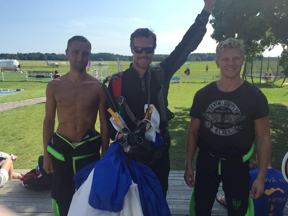 Petter, Rikard och Anton