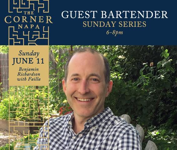 Join Benjamin Richardson this Sunday June 11th at The Corner Napa!