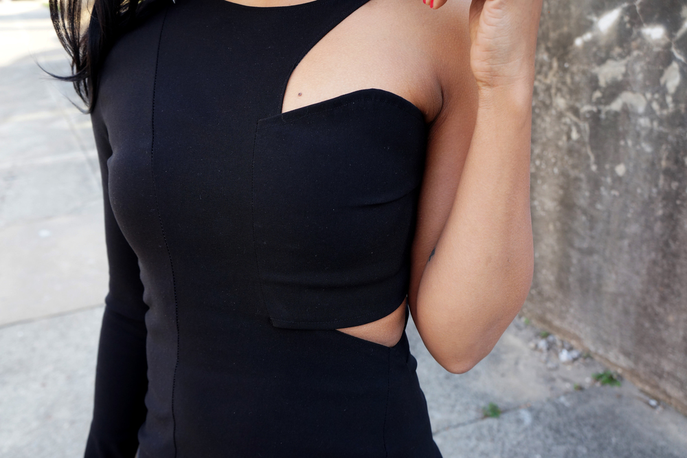 Andrea-Fenise-Cutout-Dress