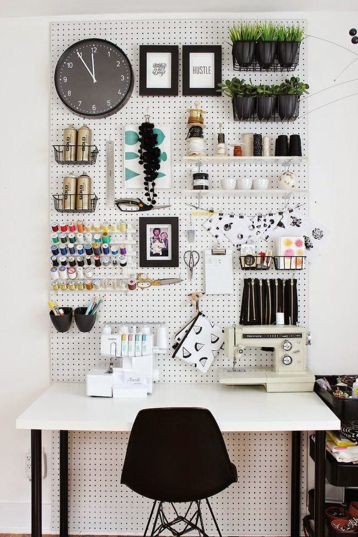 Tremendous How To Use Pinterest To Design Your Creative Workspace Blog Largest Home Design Picture Inspirations Pitcheantrous