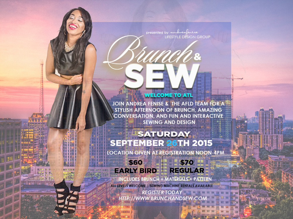 Brunch and Sew Atlanta