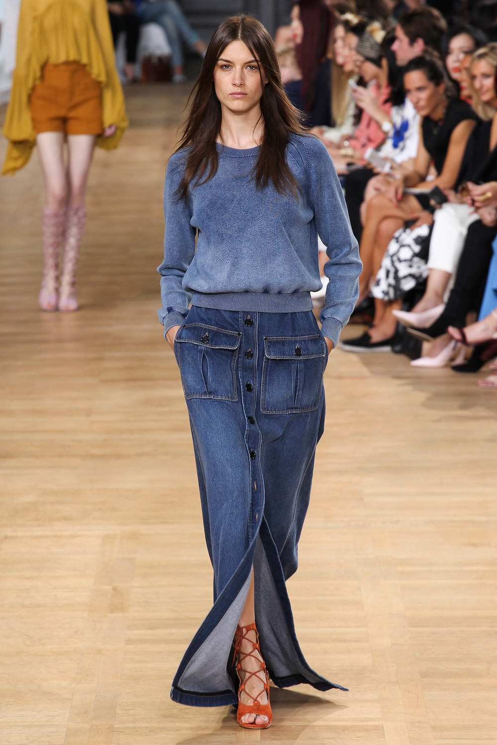 Trends : Long Denim Skirts-Blog-ANDREAFENISE