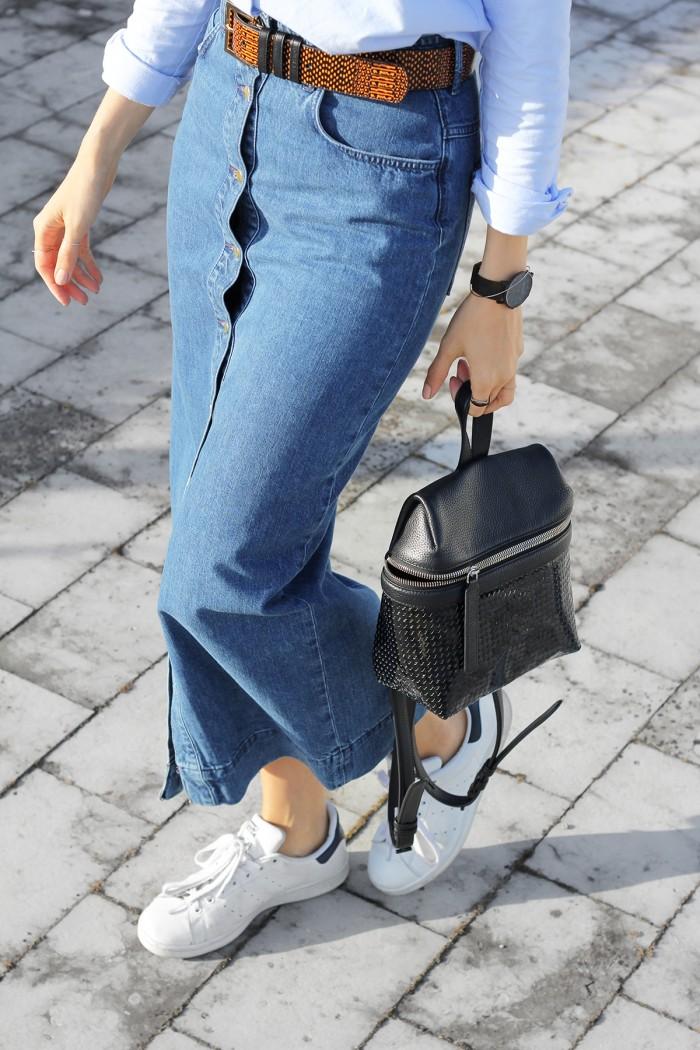 Andrea-Fenise-Denim-Skirt-Trend