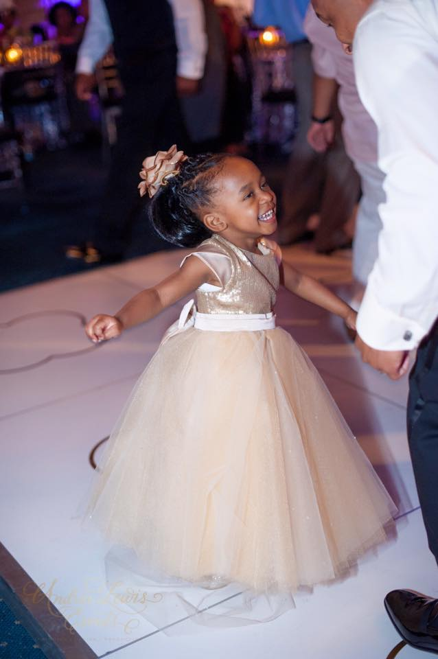 55858be0063ea I used a soft champagne sequin that had great stretch for the kiddos, a  complimentary biscotti satin and layers on layer of jeweled champagne tulle  and of ...