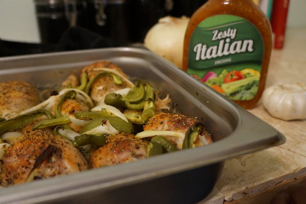 Andrea-Fenise-Zesty-Baked-Chicken-Recipe