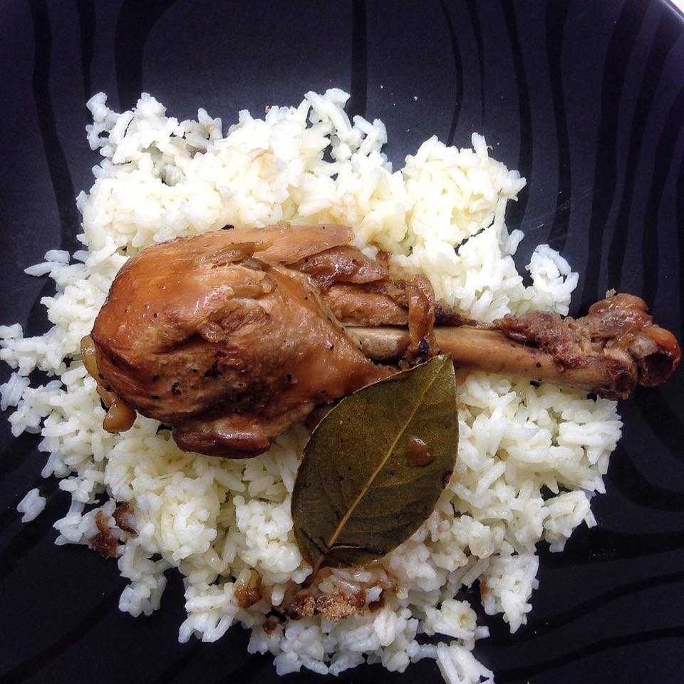 Andrea Fenise Chicken Adobo Recipe